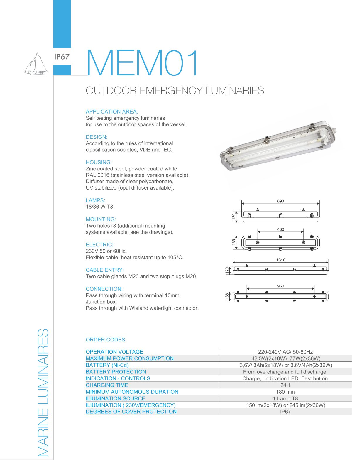 Taleo Group Lighting Technologies Marine Light Fittings Products Wiring Rules Pdf Download Mit01