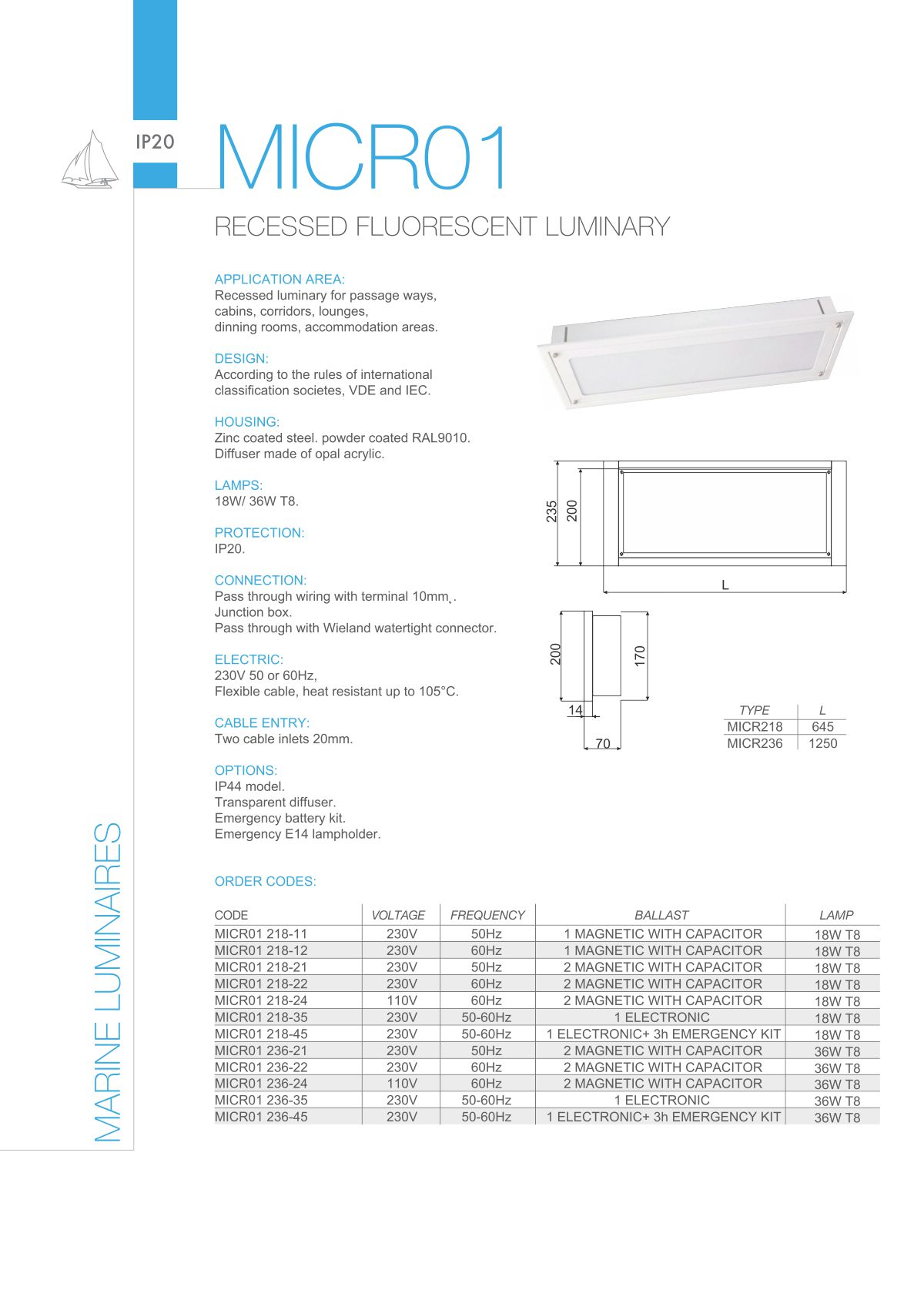 Taleo Group Lighting Technologies Marine Light Fittings Products Wiring Rules Pdf Download Mofa150